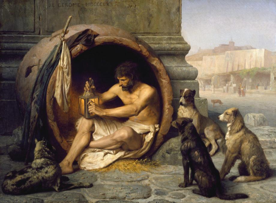 Diogène par J.L. Gérôme