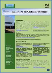 La lettre du CERHIO-Rennes #4